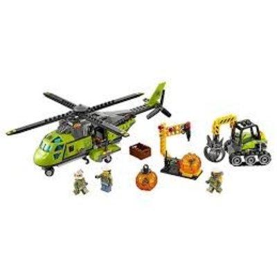 Lego Lego City Vulkaan Bevoorradings Helikopter 60123