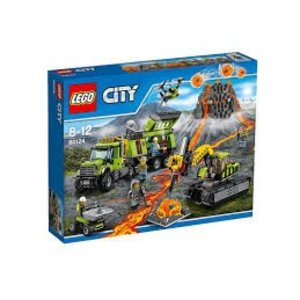 Lego City Vulkaan Onderzoekbasis 60124