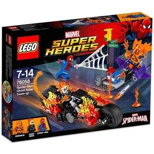 Lego Super Heroes Ghost Rider Samenwerking 76058