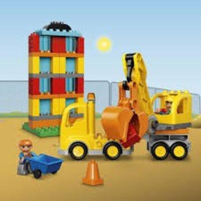 Lego Duplo Lego Duplo Bouw en Transport Grote Bouwplaats 10813