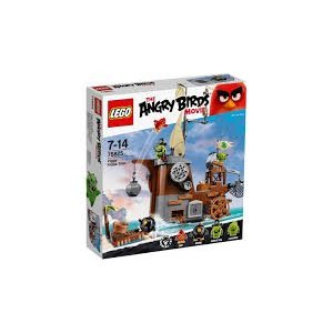 Lego Angry Birds The Piggy Pirate Ship 75825