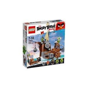 Lego Angry Birds The Piggy Pirate Ship 75825