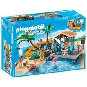 Playmobil Family Fun Vakantie Eiland met Strandbar 6979