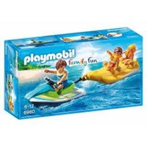 Playmobil Family Fun Jetski met Bananenboot 6980