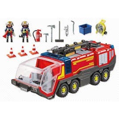 Playmobil Playmobil City Action Luchthaven Brandweer met Licht en Geluid 5337