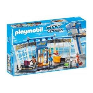 Playmobil City Action Luchthaven met Verkeerstoren 5338