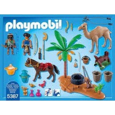Playmobil Playmobil History Grafrovers met Egyptische Schatten 5387