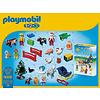 Playmobil Playmobil 1 2 3 Adventkalender Dieren op de Boerderij 9009