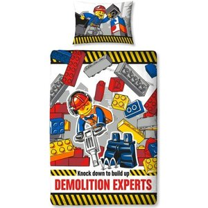 Lego City Dekbedovertrek  Demolition 700166