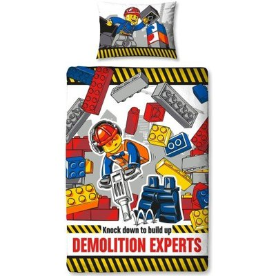 Lego Lego City Dekbedovertrek  Demolition 700166