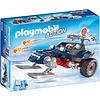 Playmobil Playmobil Action Sneeuwscooter met Ijspiraat 9058