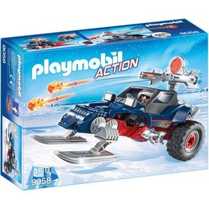 Playmobil Action Sneeuwscooter met Ijspiraat 9058