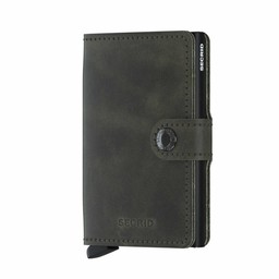 Secrid Mini Wallet vintage olive-black