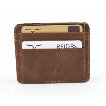 Maverick vintage lederen 'magic wallet'