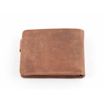 Maverick vintage lederen porte-dollar, billfold