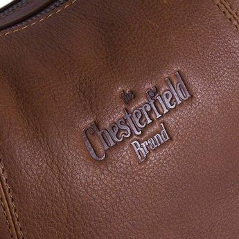 The Chesterfield Brand mooie lederen damestas, schoudertas