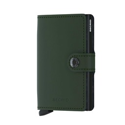 Secrid Mini Wallet matte green-black