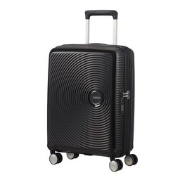 American Tourister Soundbox, Spinner 55 cm uitbreidbaar bass black