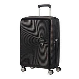 American Tourister Soundbox, Spinner 67 cm uitbreidbaar bass black