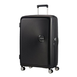 American Tourister Soundbox, Spinner 77 cm uitbreidbaar bass black