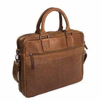 The Chesterfield Brand prachtige lederen laptoptas