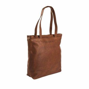 The Chesterfield Brand prachtige lederen shopper, werktas, schooltas