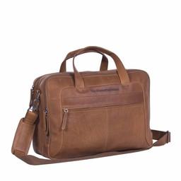 The Chesterfield Brand Leren Laptoptas Ryan cognac