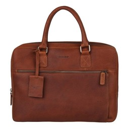 "Burkely Antique Avery Laptopbag 13.3"" cognac"