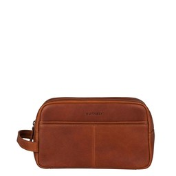 Burkely Antique Avery Toiletry Bag cognac