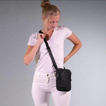 Hedgren handig synthetisch schoudertasje