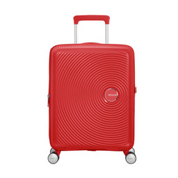 American Tourister Soundbox, Spinner 55 cm uitbreidbaar coral red