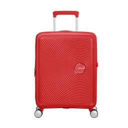 American Tourister Soundbox, Spinner 55 cm uitbreidbaar coral red