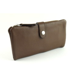 FredsBruder Wallet Soft Lammp dark almond