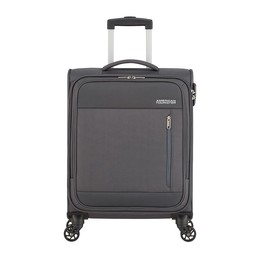 American Tourister Heat Wave Spinner 55 cm charcoal grey