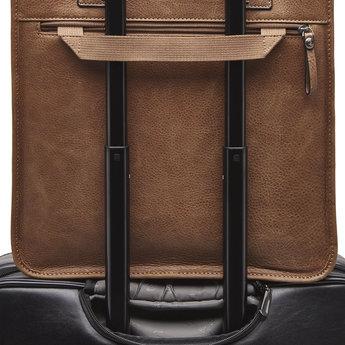 Castelijn & Beerens lederen 15.6 inch laptoptas