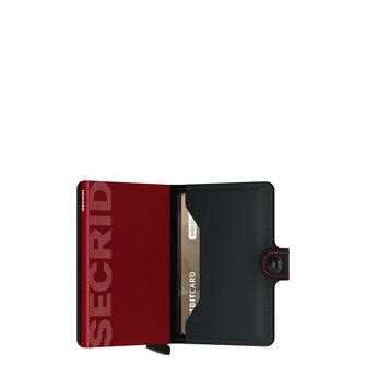 Secrid handige en compacte lederen kaartenportemonnee