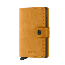 Secrid Mini Wallet vintage ochre