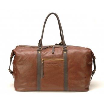 Arthur&Aston elegante leren reistas, handbagage