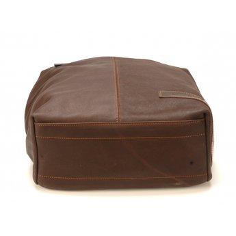 Arthur&Aston lederen laptop rugzak
