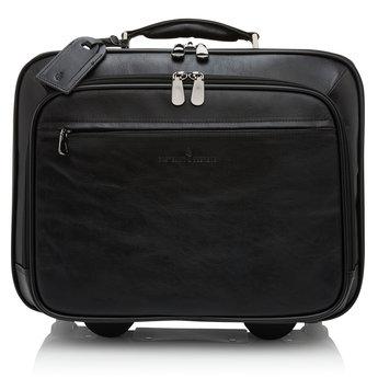 """Castelijn & Beerens prachtige lederen 15.6"""" laptoptrolley"""