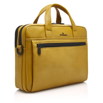 Castelijn & Beerens prachtige lederen 15.6 inch laptoptas