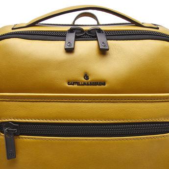 Castelijn & Beerens prachtige lederen 15.6 inch laptoprugzak