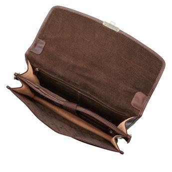 Castelijn & Beerens prachtige lederen 13.3 inch laptoptas