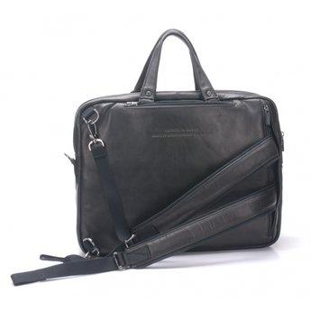 Arthur&Aston prachtige lederen aktetas, laptoptas, rugzak