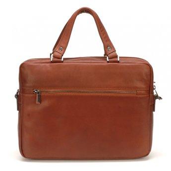 Arthur&Aston prachtige lederen aktetas, laptoptas
