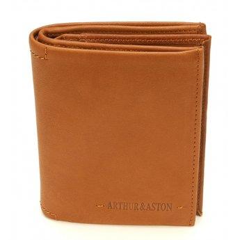 Arthur&Aston mooie lederen herenportefeuille