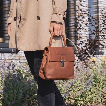 The Chesterfield Brand trendy leren damestas