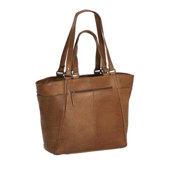 The Chesterfield Brand prachtige lederen dames shopper