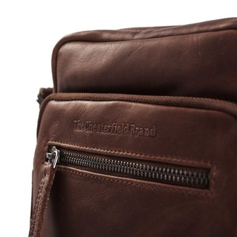 The Chesterfield Brand praktische leren schoudertas