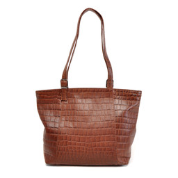Berba Bags & Wallets Leren Shopper Laguna cognac